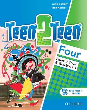 کتاب Teen 2 Teen 4 SB+WB+DVD
