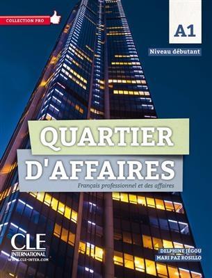کتاب Quartier d'affaires - Niveau A1 - Livre + Cahier + DVD