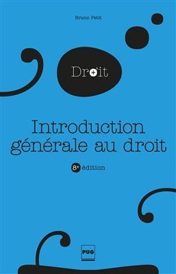 کتاب INTRODUCTION GENERALE AU DROIT