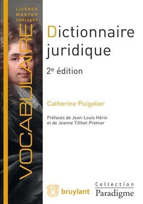 کتاب DICTIONNAIRE JURIDIQUE