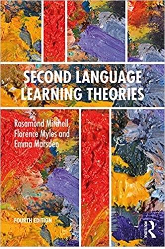 كتاب Second Language Learning Theories Fourth Edition