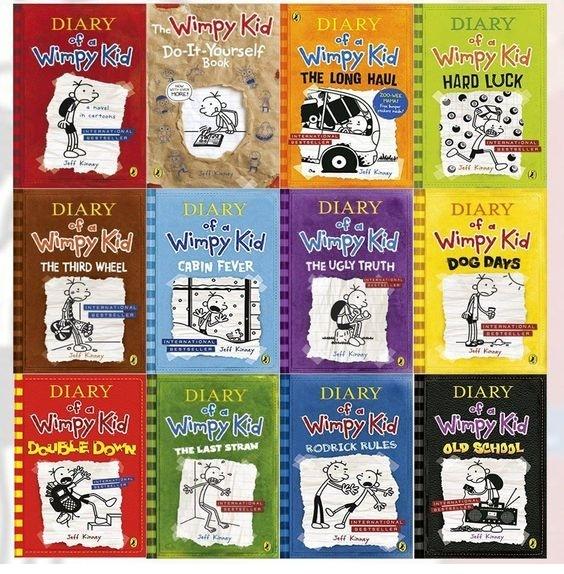 مجموعه 14 جلدی Wimpy Kid