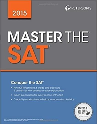 كتاب Master the SAT 2015