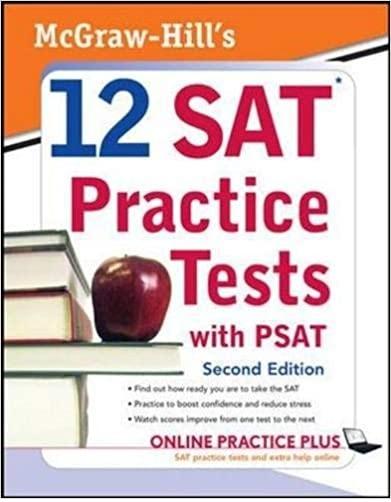 كتاب McGraw Hill's 12 SAT Practice Tests