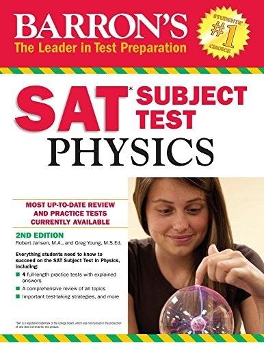 كتاب SAT Subject Test Physics