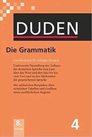 کتاب (سیاه و سفید) Duden Die Grammatik