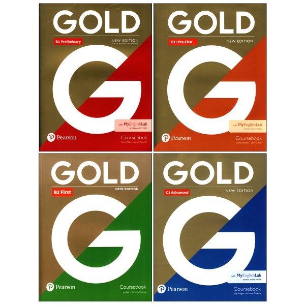 مجموعه 4 جلدي كتاب هاي گلد  Gold New Edition Book Series