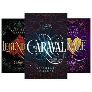 پکیج 3 جلدی کتاب های رمان کاراوال Caraval Book Series