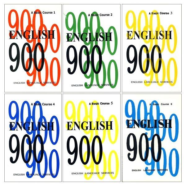 مجموعه 6 جلدی  ENGLISH 900