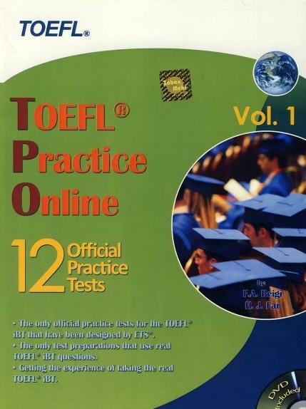كتاب TOEFL Practice Online