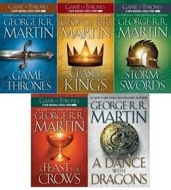 پک کامل یخ و آتش A Game of Thrones اثر George R. R. Martin