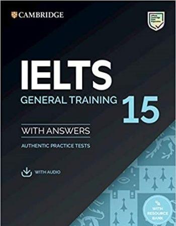 کتاب آیلتس کمبریج 15 جنرال IELTS Cambridge 15 General + CD 2020