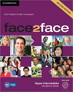 کتاب فیس تو فیس آپر اینترمدیت ویرایش دوم Face 2 Face Upper Intermediate 2nd+SB+WB+DVD