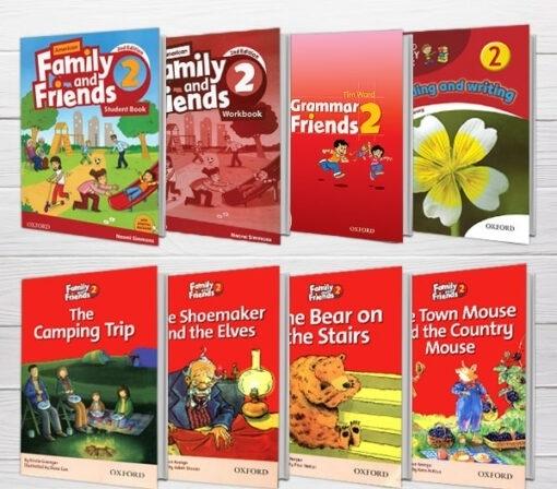 پکیج (رحلی) دوره کامل American Family and Friends 2 2nd edition