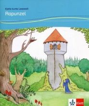 کتاب RAPUNZEL داستان آلمانی کودکان رنگی