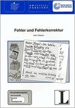 كتاب آلمانی Fehler und Fehlerkorrektur