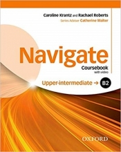 کتاب نویگیت آپر اینترمدیت Navigate Upper-Intermediate (B2) Coursebook + W.B + CD