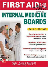 کتاب First Aid for the Internal Medicine Boards 4th Edition2017 کمک های اولیه برای هیئت های پزشکی داخلی