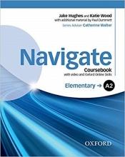 کتاب نویگیت المنتری Navigate Elementary (A2) Coursebook + W.B + CD