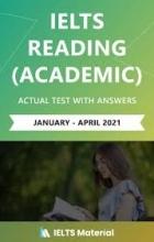 کتاب آیلتس ریدینگ آکادمیک (IELTS Reading Acadamic (Jan – April 2021