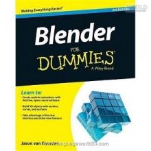 کتاب بلندر فور دامیز Blender For Dummies