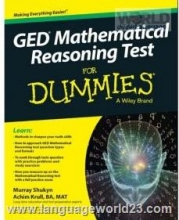 کتاب GED Mathematical Reasoning Test For Dummies
