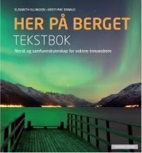 کتاب زبان نروژی Her på berget. Tekstbok رنگی