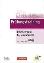کتاب آلمانی Prufungstraining DaF: Deutsch-Test fur Zuwanderer - Ubungsbuch mit CD