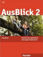 کتاب آلمانی AusBlick 2 Kursbuch+Arbeitsbuch