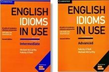 کتاب دو جلدی انگلیش ایدیومز این یوز English Idioms In Use Intermediate+Advanced