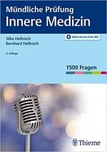 كتاب آلماني Mündliche Prüfung Innere Medizin سیاه سفید