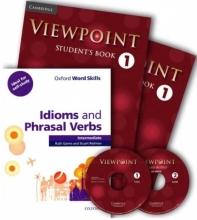 پک کتاب های ویوپوینت ۱ و ایدیمز ViewPoint 1+Idioms and Phrasal Verbs intermediate