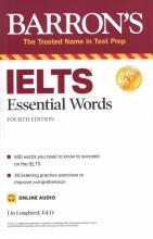 کتاب بارونز آیلتس اسنشیال وردز ویرایش چهارم Barrons IELTS Essential Words 4th+ CD