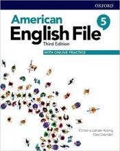 کتاب امریکن انگلیش فایل 5 ويرايش سوم American English File 5 3rd Edition