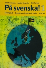 كتاب زبان سوئدی Pa svenska! 1 Ovningsbok A1 &A2 سیاه سفید