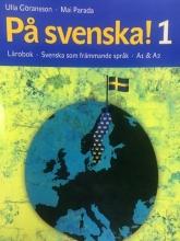 كتاب سوئدی پسونکا Pa svenska! 1 Lärobok Svenska som främmande språk A1 &A2 رنگی