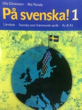 كتاب سوئدی پسونکا Pa svenska! 1 Lärobok Svenska som främmande språk A1 &A2 سیاه سفید