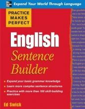 كتاب Practice Makes Perfect: English Sentence Builder