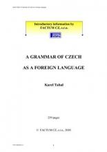 کتاب زبان چک A Grammar of Czech as a Foreign Language