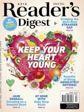 مجله ریدر دایجست Readers Digest Keep your heart young April 2021