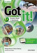 کتاب گات ایت Got It 2nd 1A +DVD