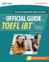 کتاب آفیشیال گاید تو تافل  Official Guide to the TOEFL iBT Test, Sixth Edition