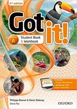 کتاب گات ایت استارتر ویرایش دوم Got It 2nd Starter A+DVD