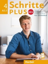 كتاب آلمانی شریته پلاس نئو schritte plus neu 4 A2.2