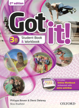 کتاب گات ایت Got it 3B 2nd+DVD