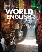 کتاب ورلد انگلیش 3 ویرایش دوم World English 3 2nd SB+WB+CD