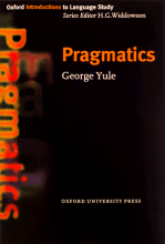 کتاب (جورج يول)Pragmatics