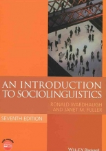 کتاب An Introduction to Sociolinguistics seventh edition