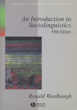 کتاب An Introduction to Sociolinguistics 5th Edition