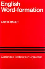 کتاب Word Formation